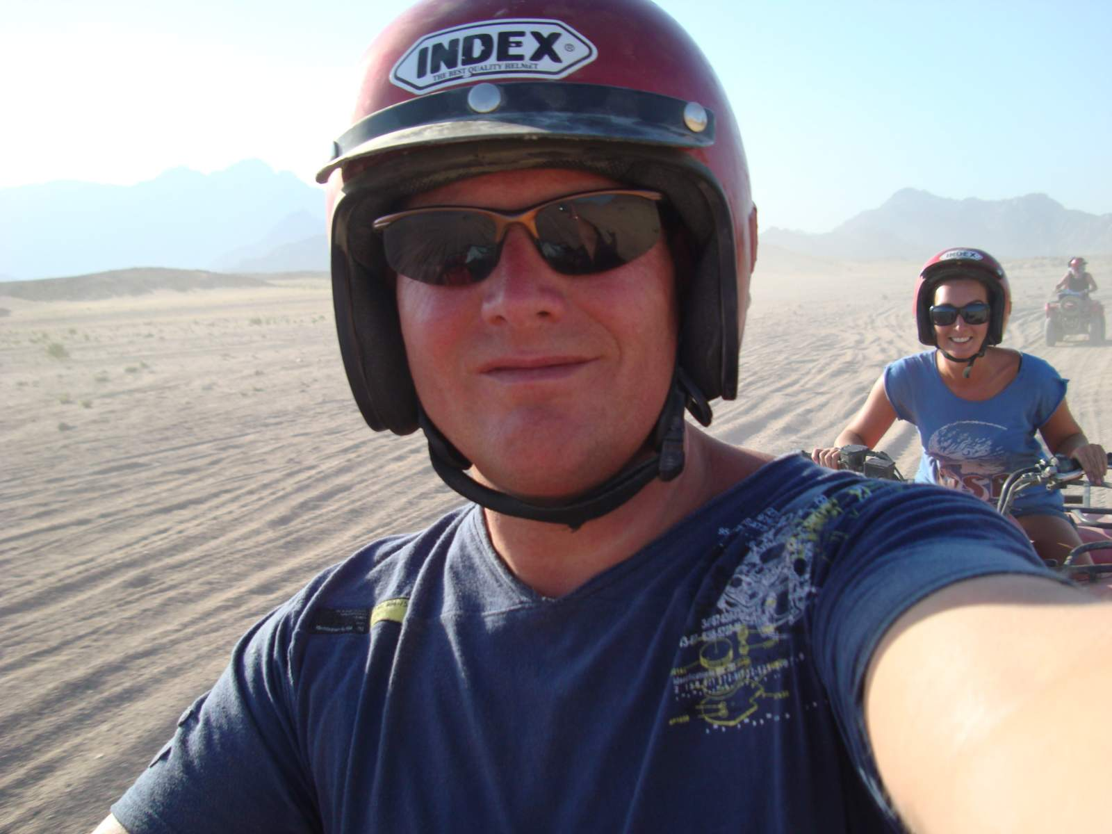 quad biking in egypt atv