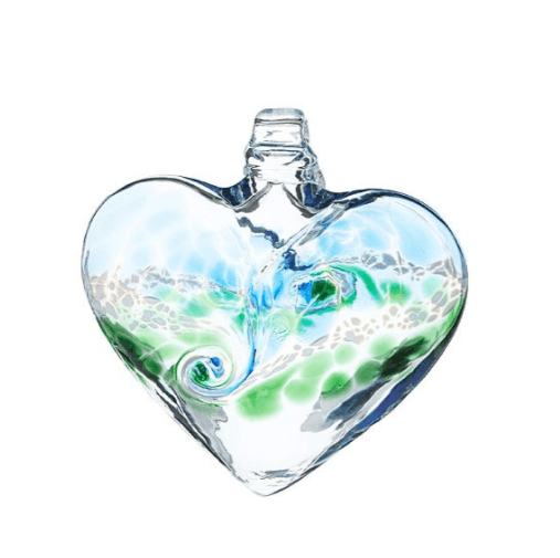 Glass Heart Window Charm