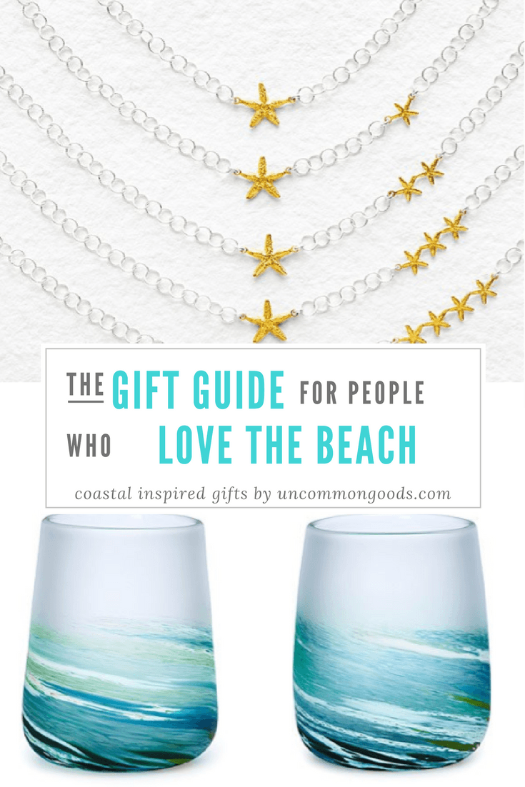 Gift Guide: perfect presents for people who love the beach with Uncommon Goods