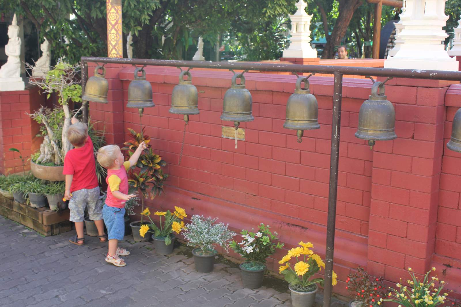 ringing bells in chiang mai