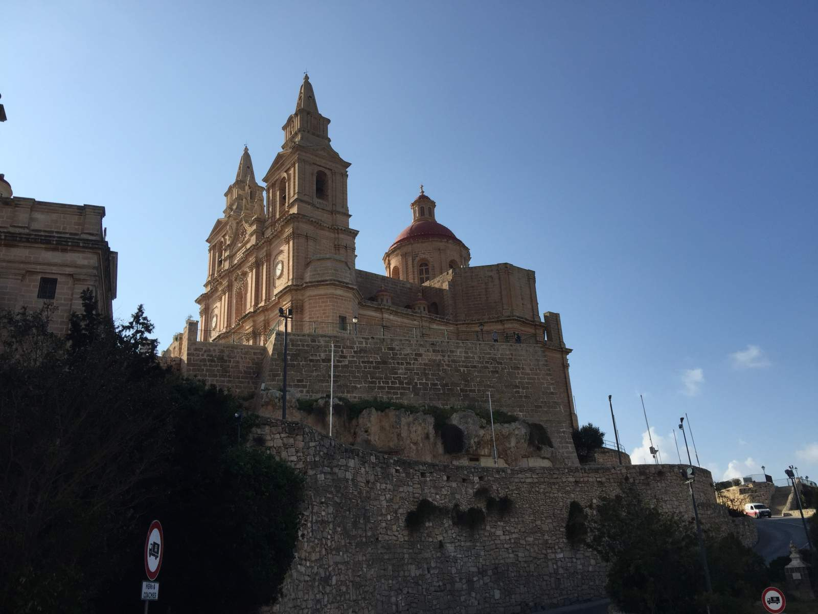 parish church of mellieha malta