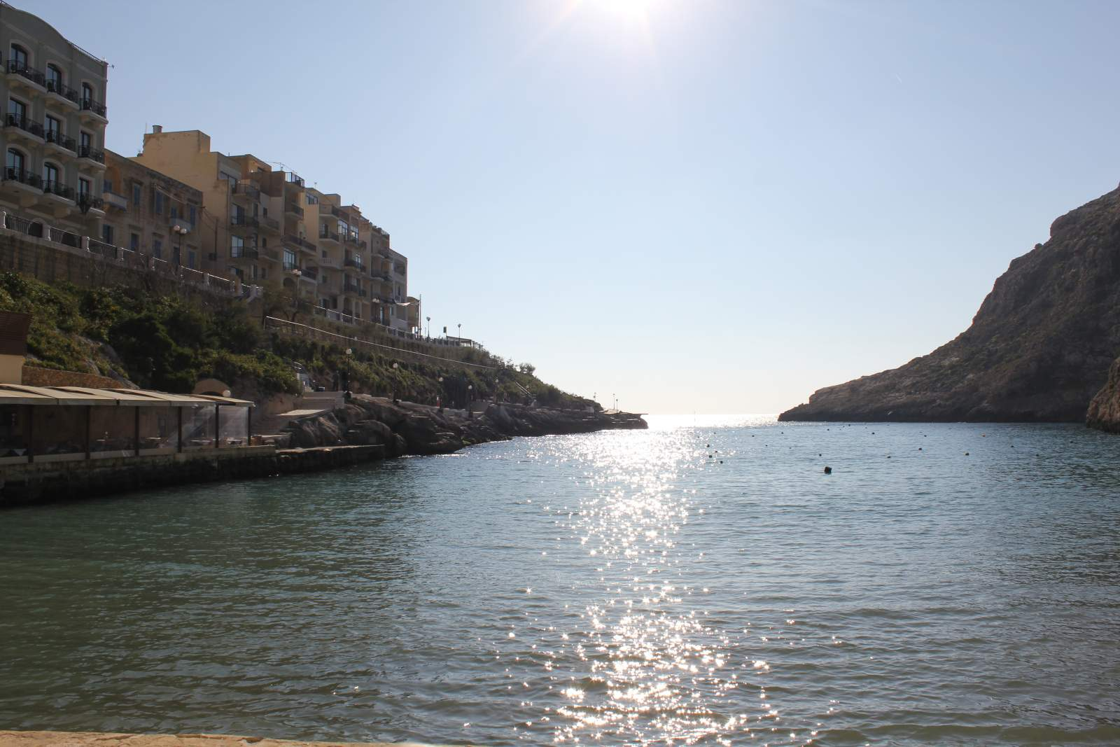 view out to sea gozo
