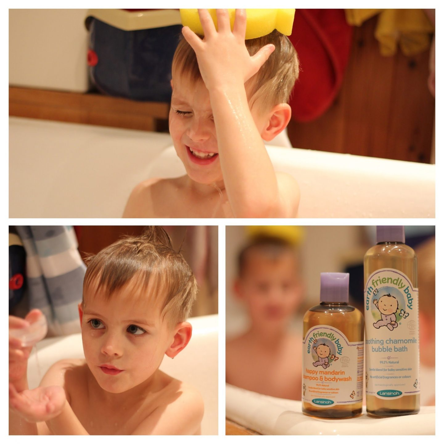 REVIEW: Earth Friendly Baby organic bath products