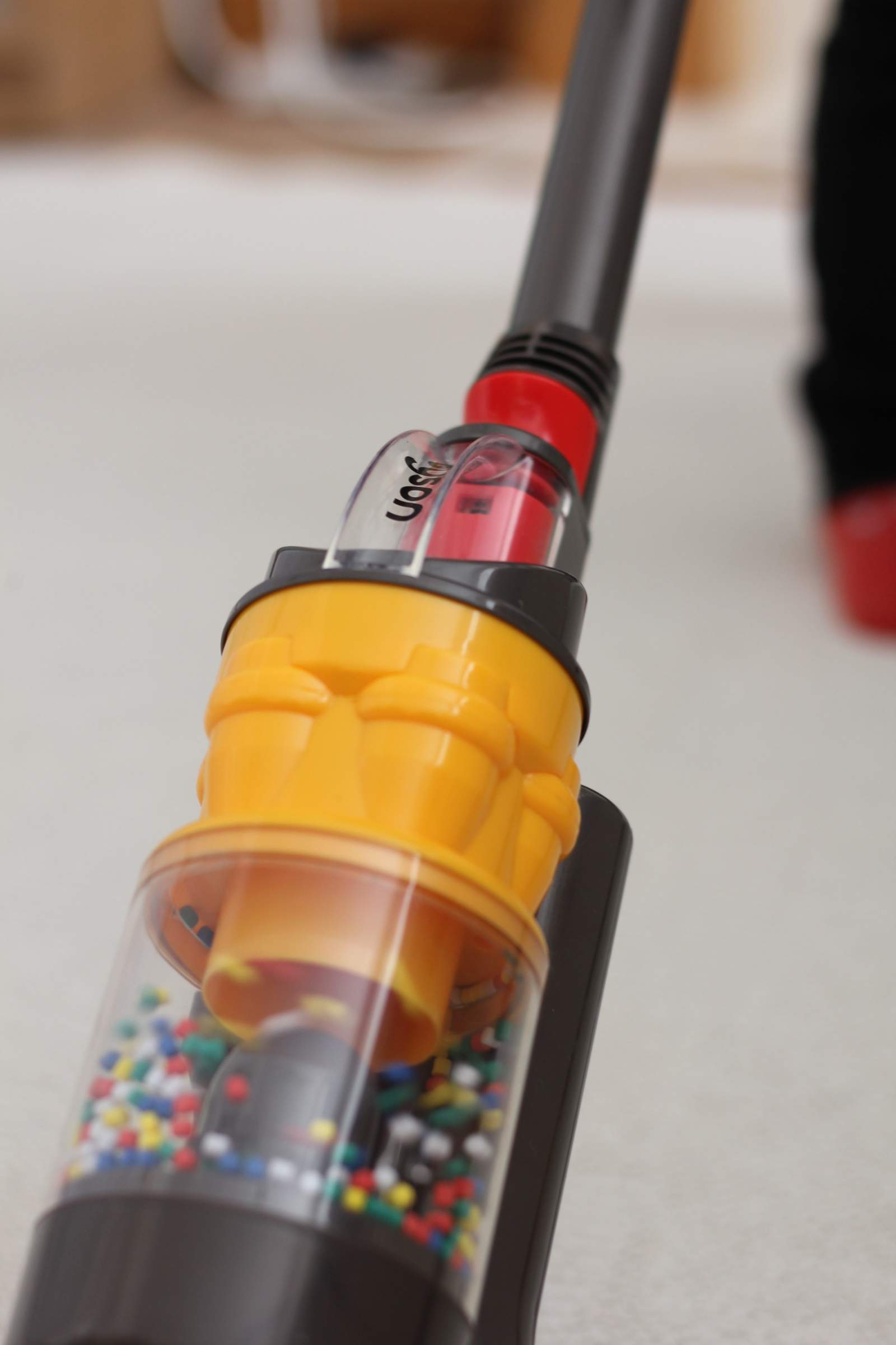 Role Play Spring Cleaning with Casdon Dyson Ball Vacuum