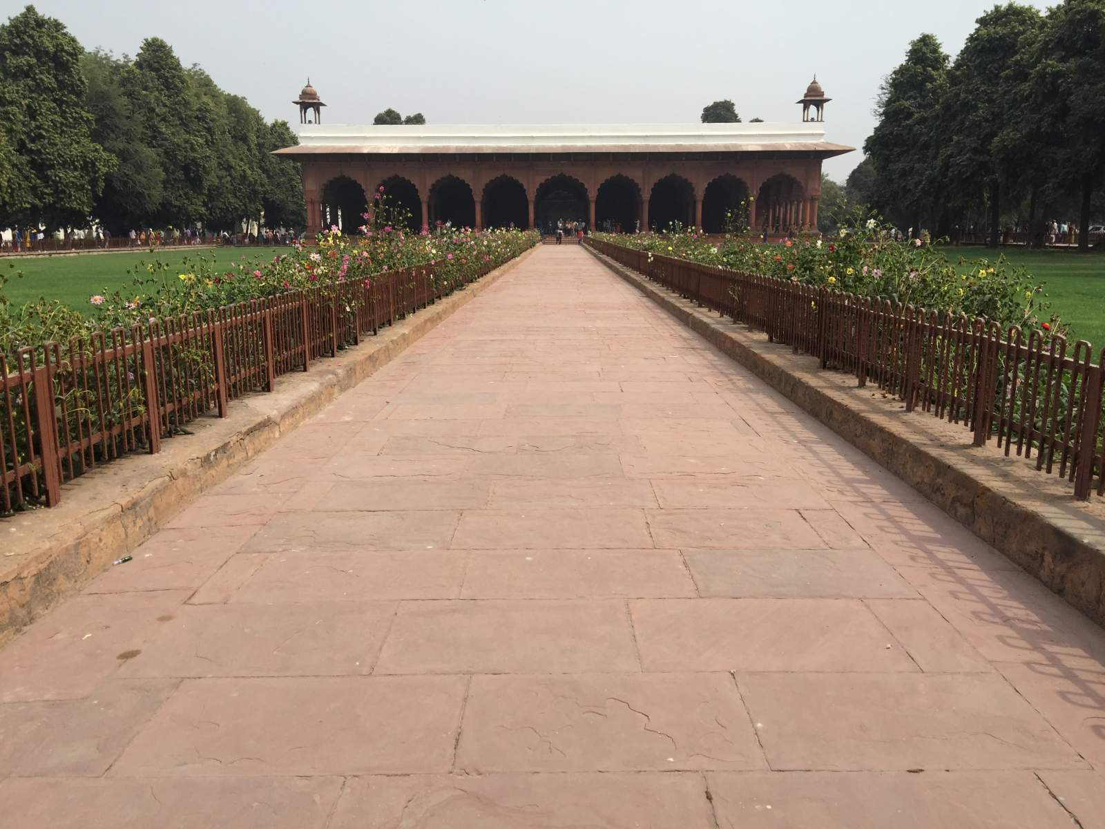 long path red fort delhi
