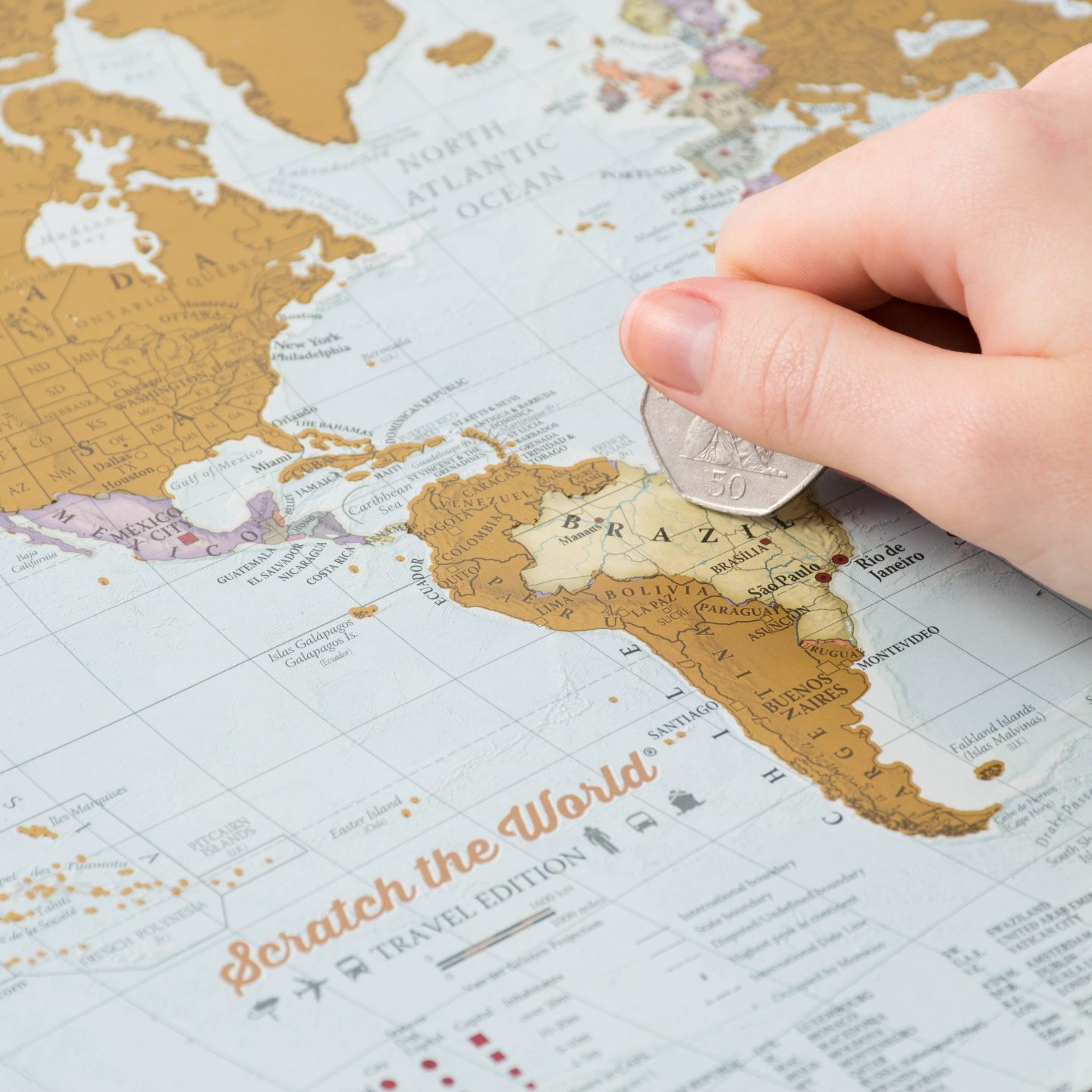 Relive Dad's travels with a Scratch the World print for Father's Day [GIVEAWAY] #MapsForDad
