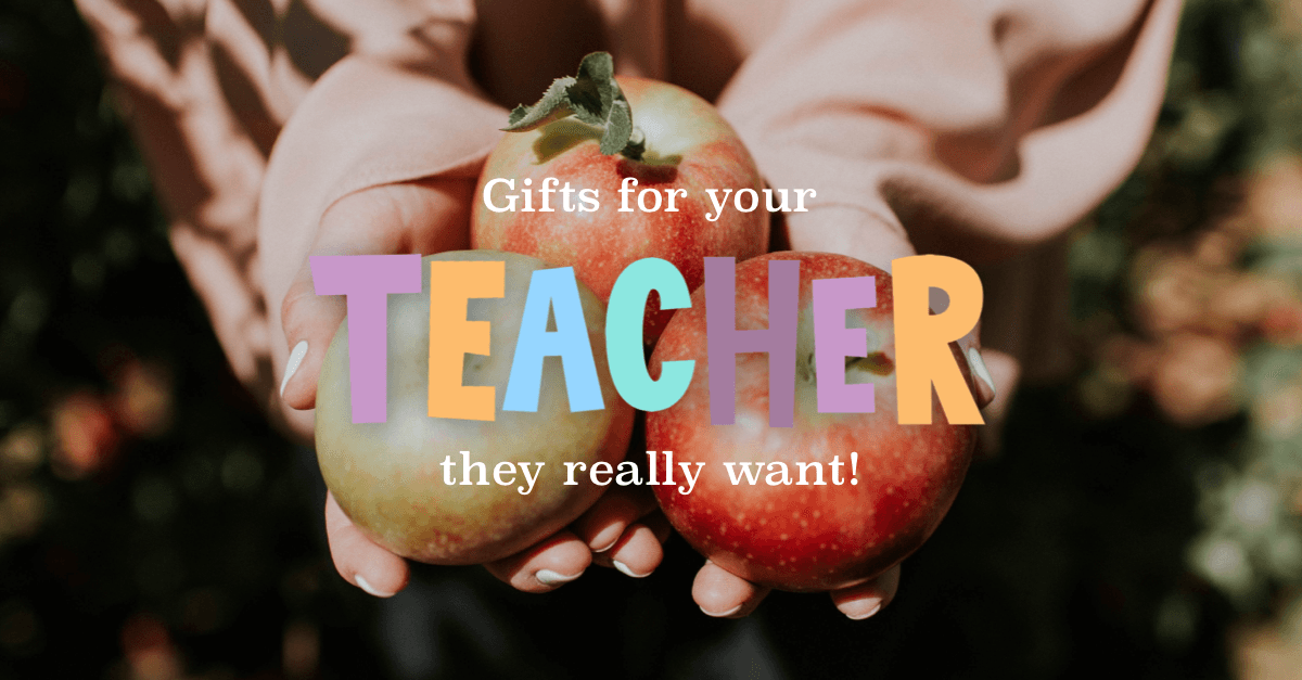 Gifts teachers really want [ GIVEAWAY ]