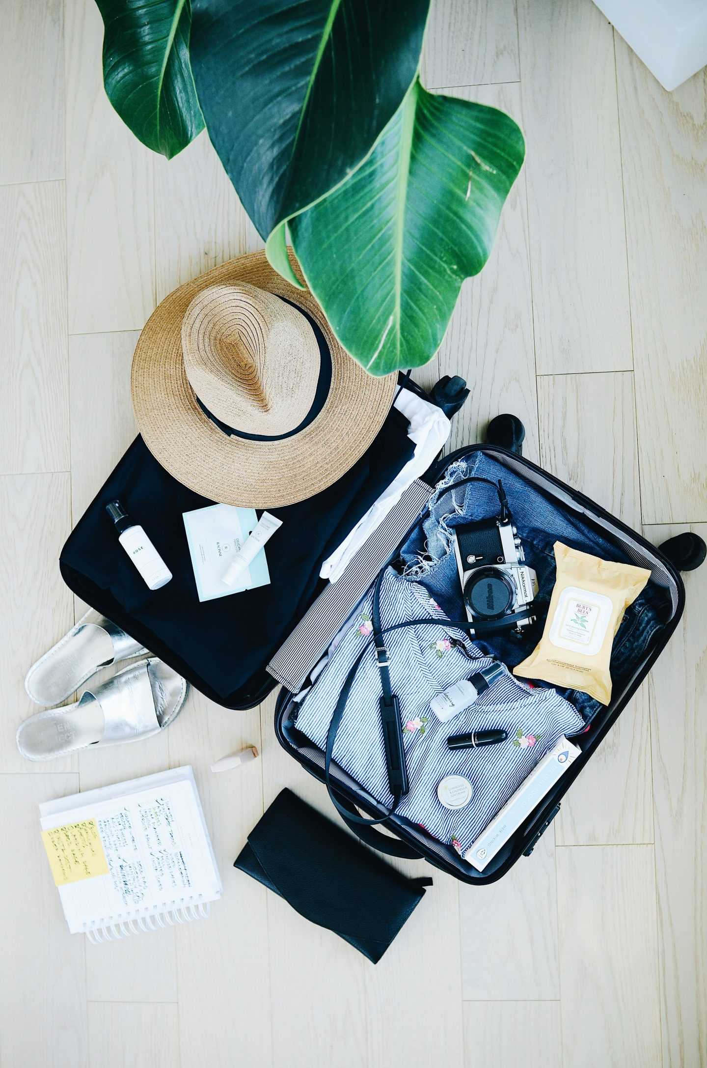 What we pack for a family holiday