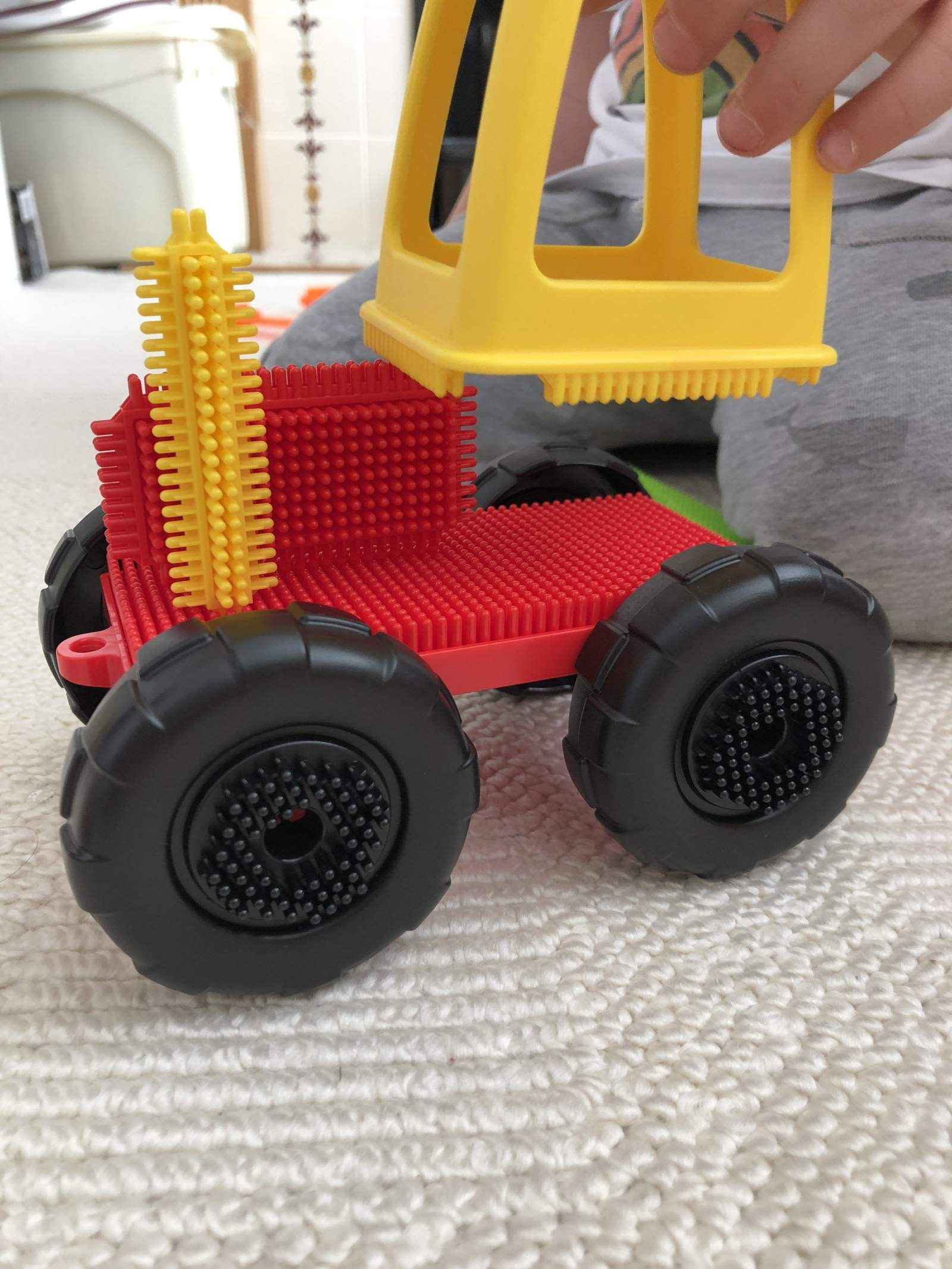 stickle bricks tractor
