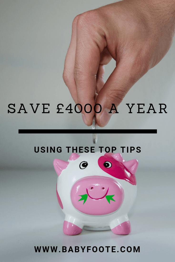 save as much as £4000 in a year by following these simple tips