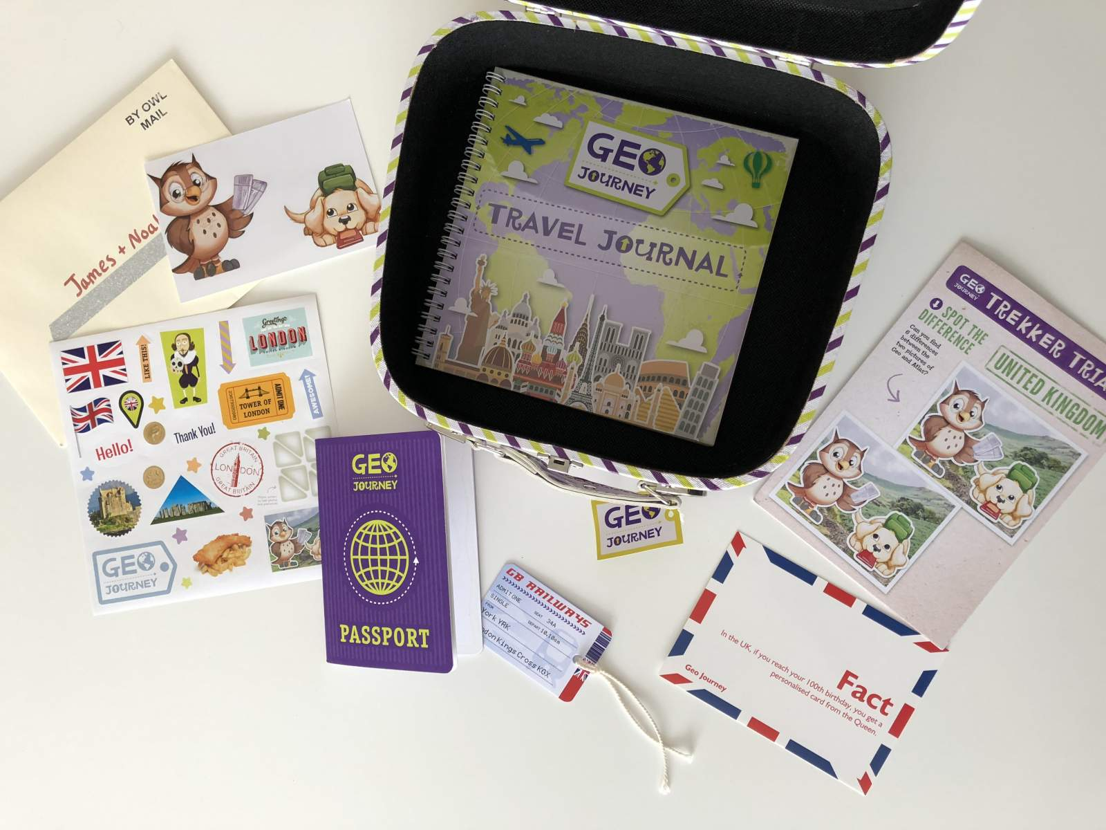 geo journey subscription box starter suitcase