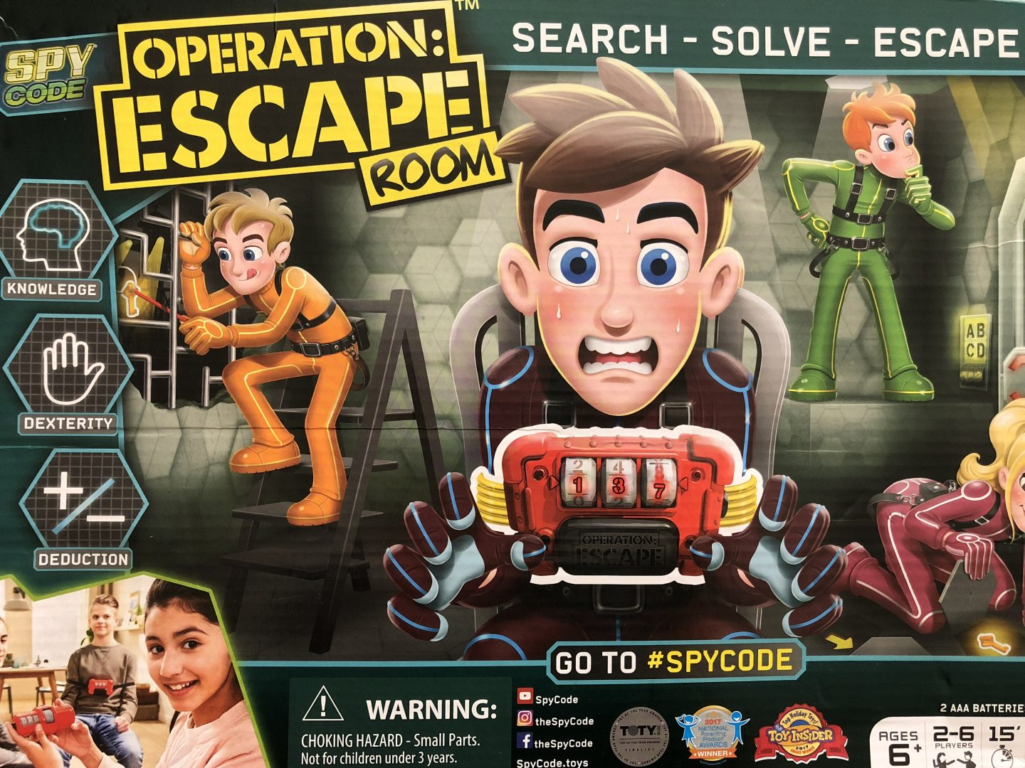 Spy Code Operation: Escape Room game Review