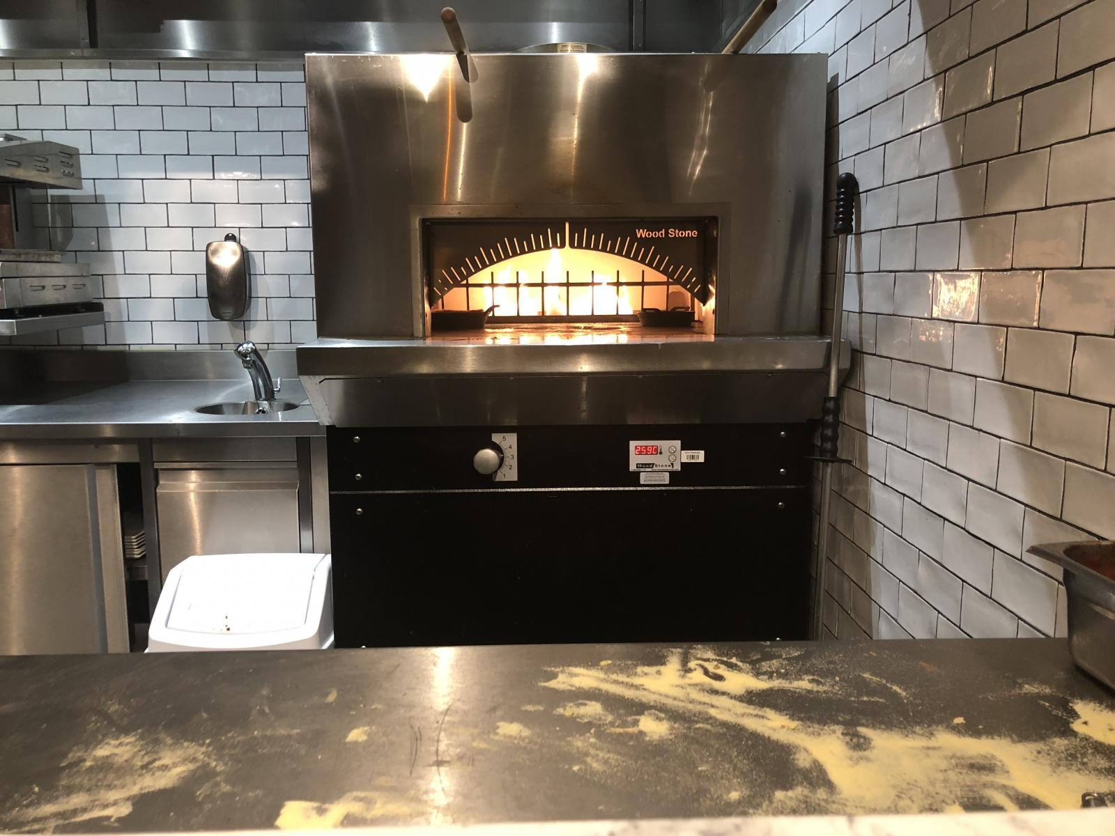 oven in cookhouse and pub holystone newcastle