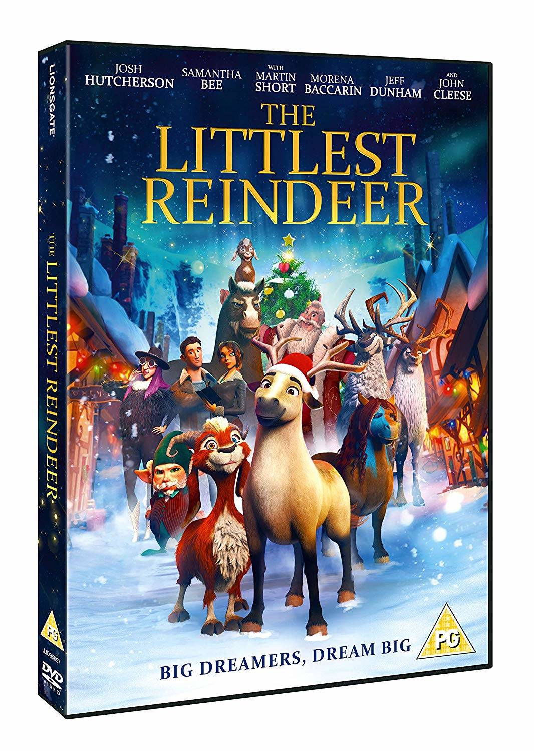 The Littlest Reindeer DVD review and giveaway