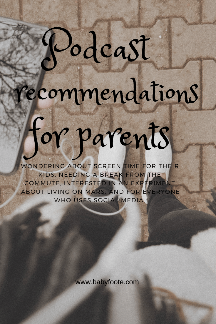 podcast recommendations for the commute working parents