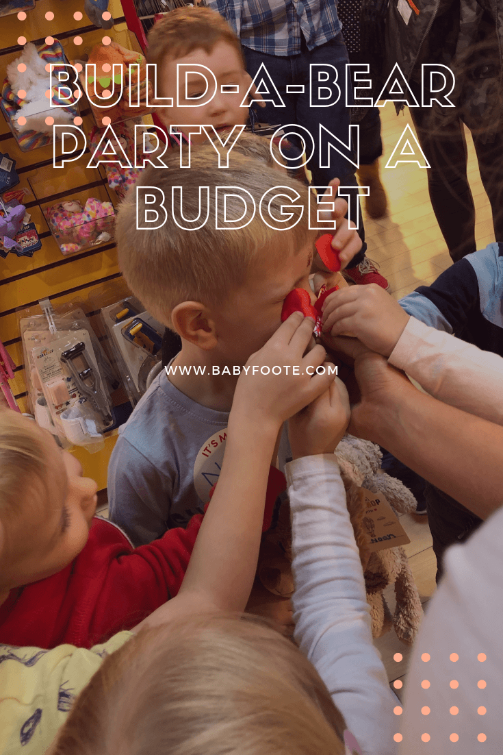 A Build-A-Bear party feels like it's going to be a really expensive option for a birthday celebration, doesn't it? Here are some tips for doing a genuine in-store Build-A-Bear party for less money than you imagine!
