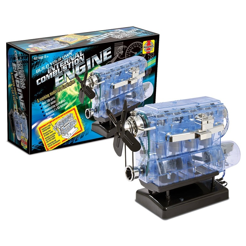 Win a Haynes Build Your Own Internal Combustion Engine