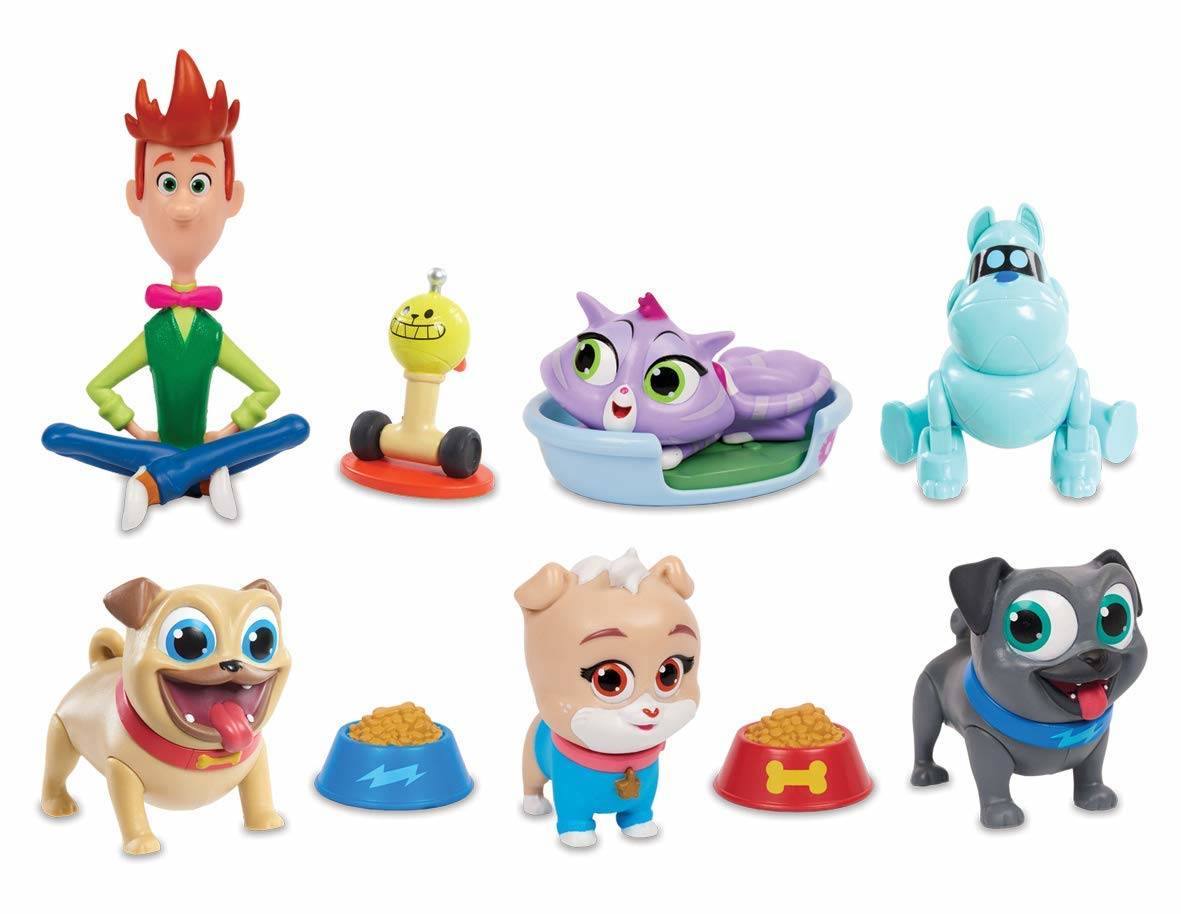 puppy dog pals deluxe playset contents