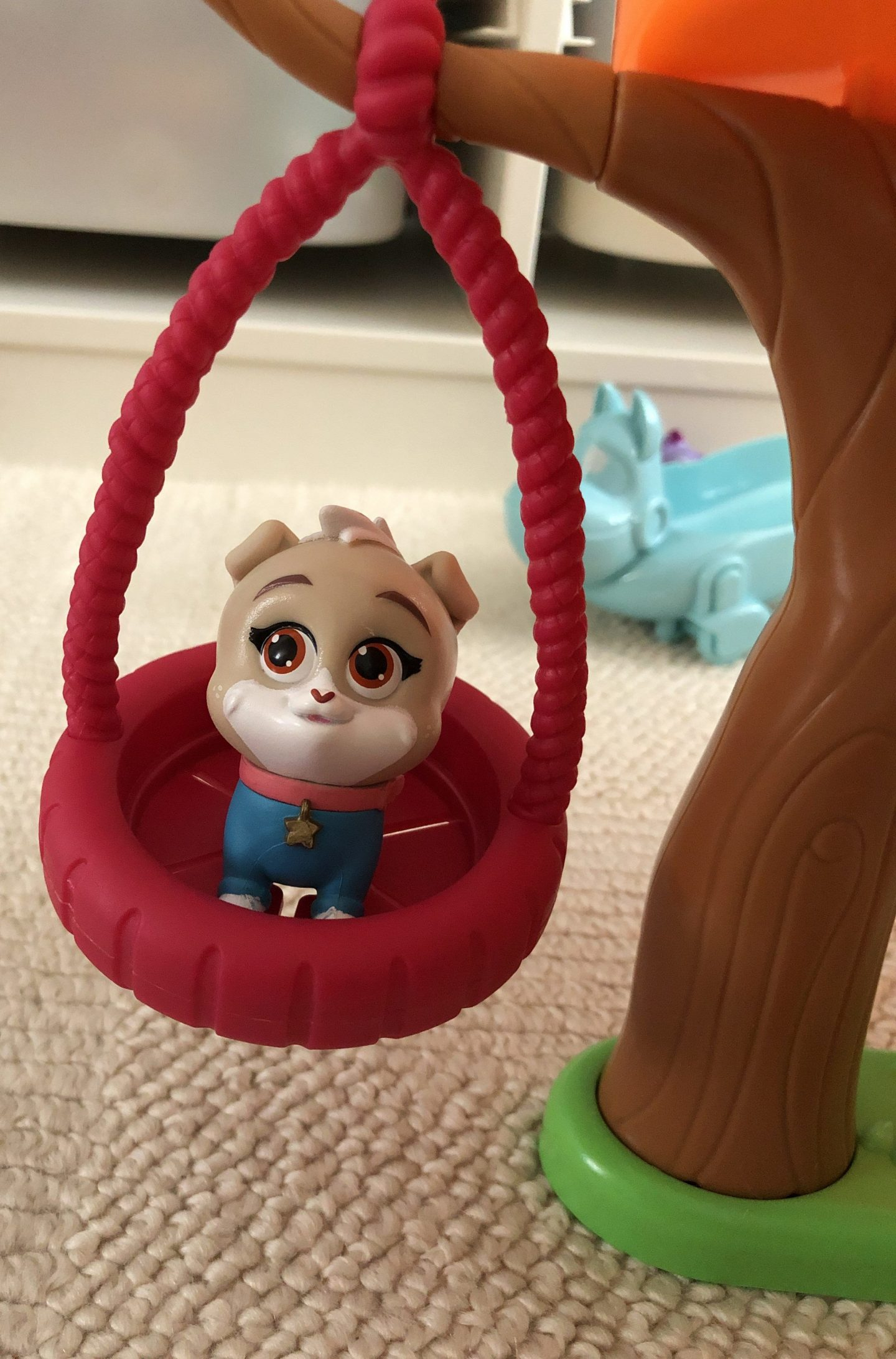puppy dog pals doghouse swing