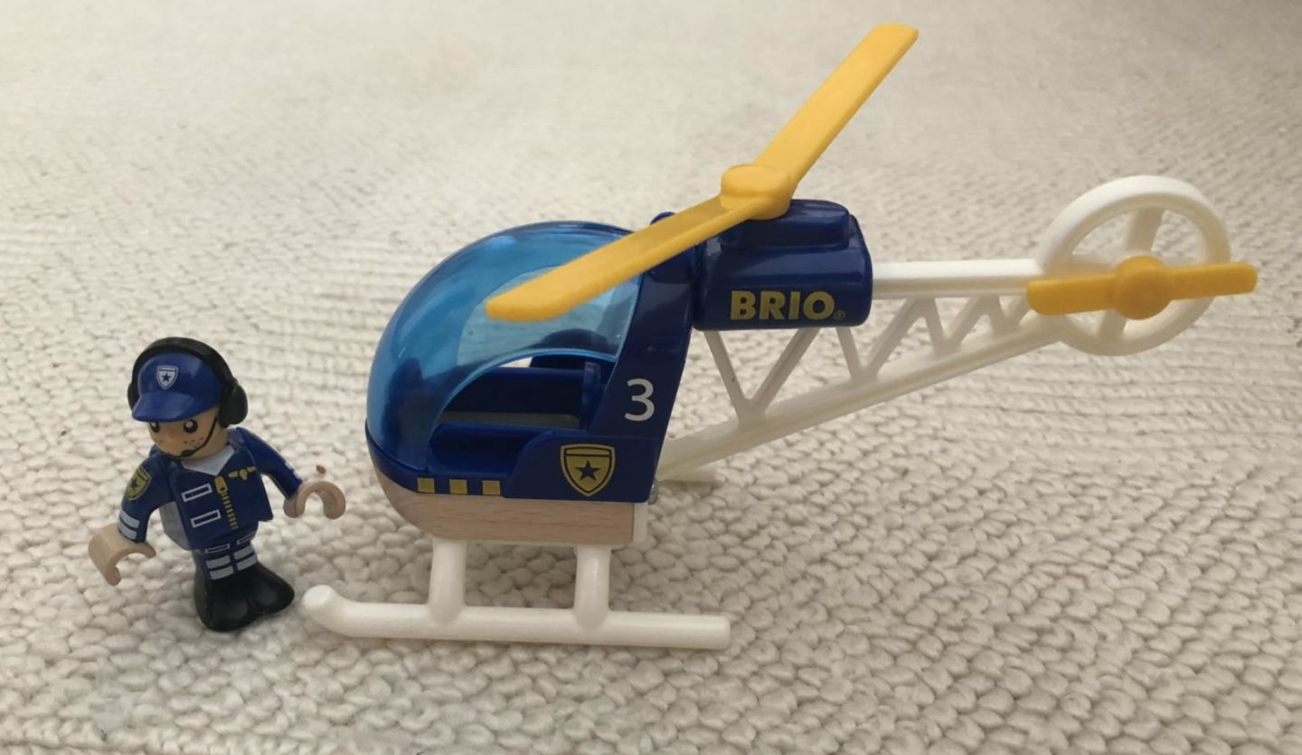 Brio World Police Helicopter review