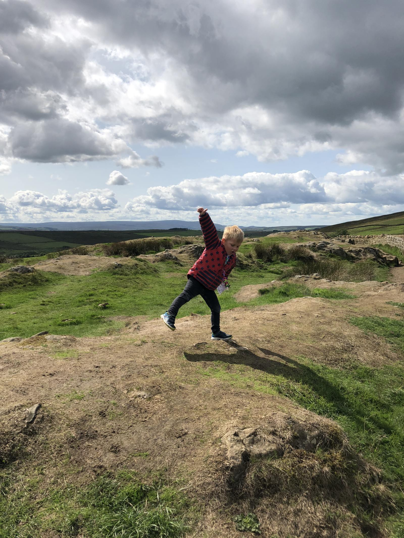 family friendly walk hadrian's wall