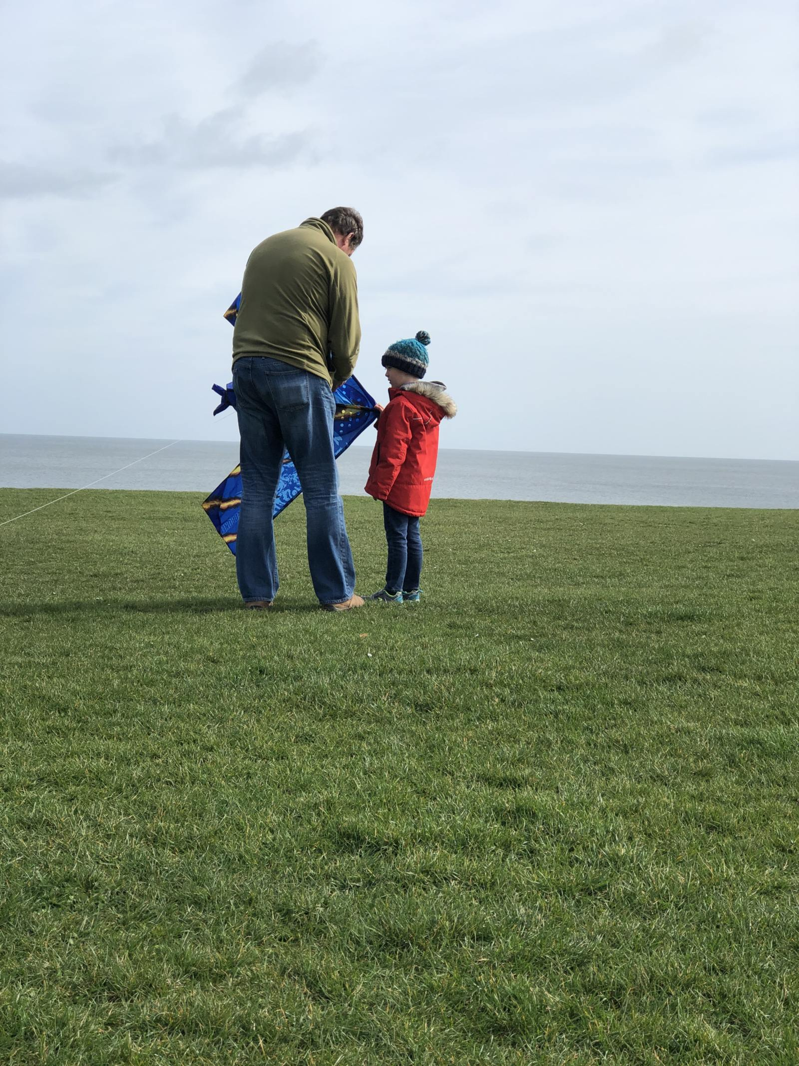 flying a kite is a fun activity for all the family