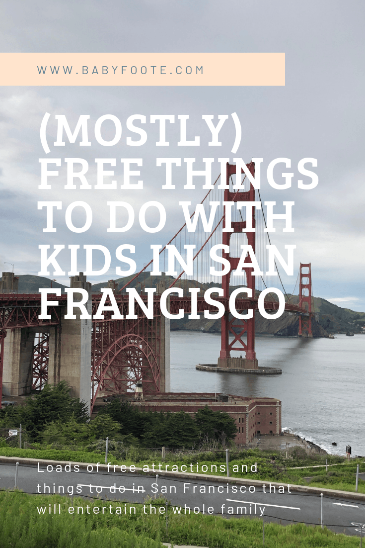 (mostly) Free things to do with kids in san francisco