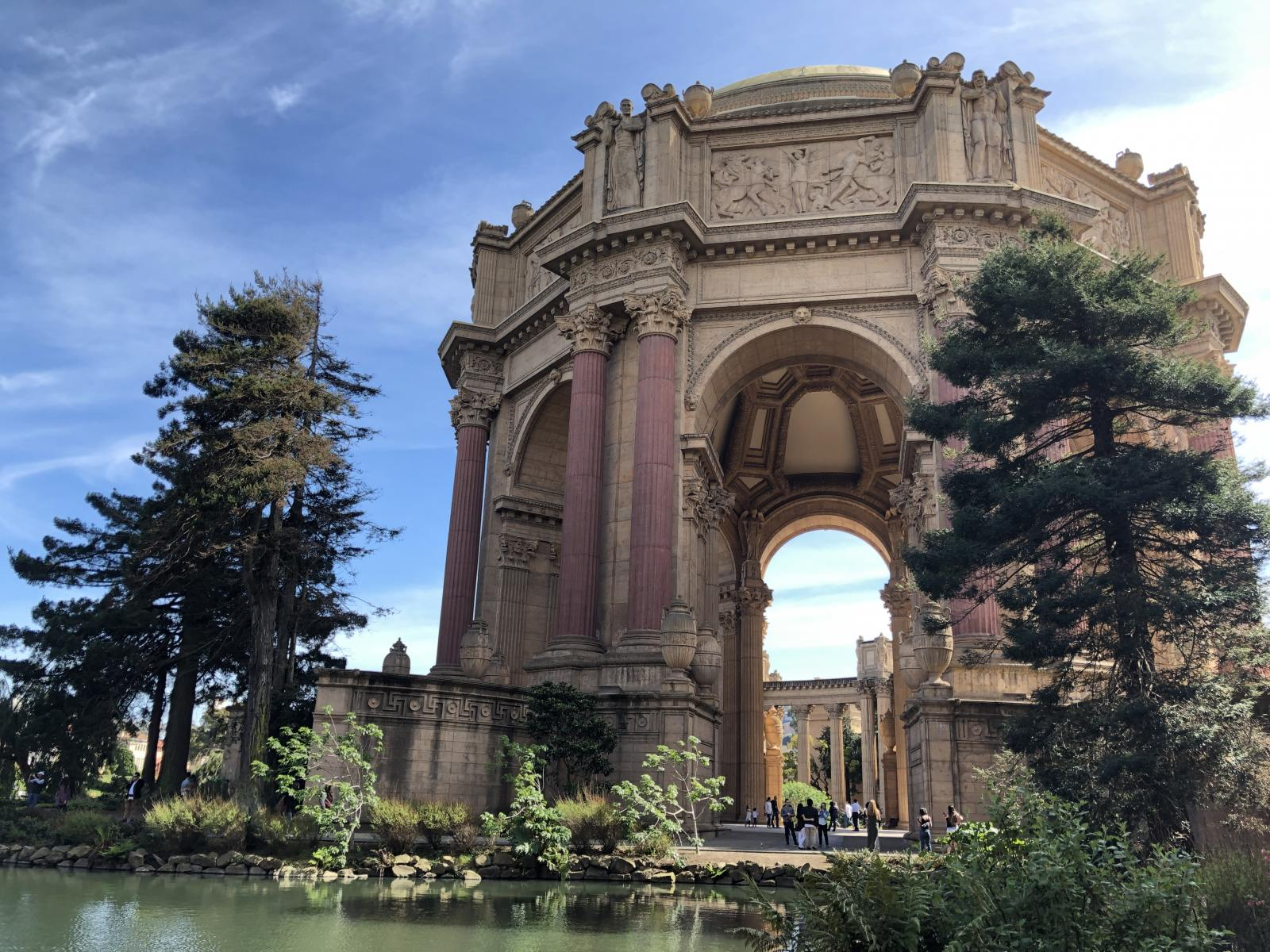 palace of fine arts San Francisco march 2019