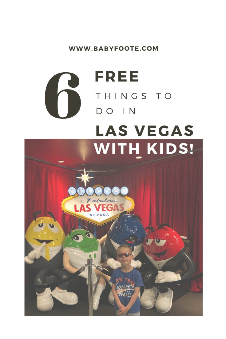 www.babyfoote.com things to do in vegas with kids