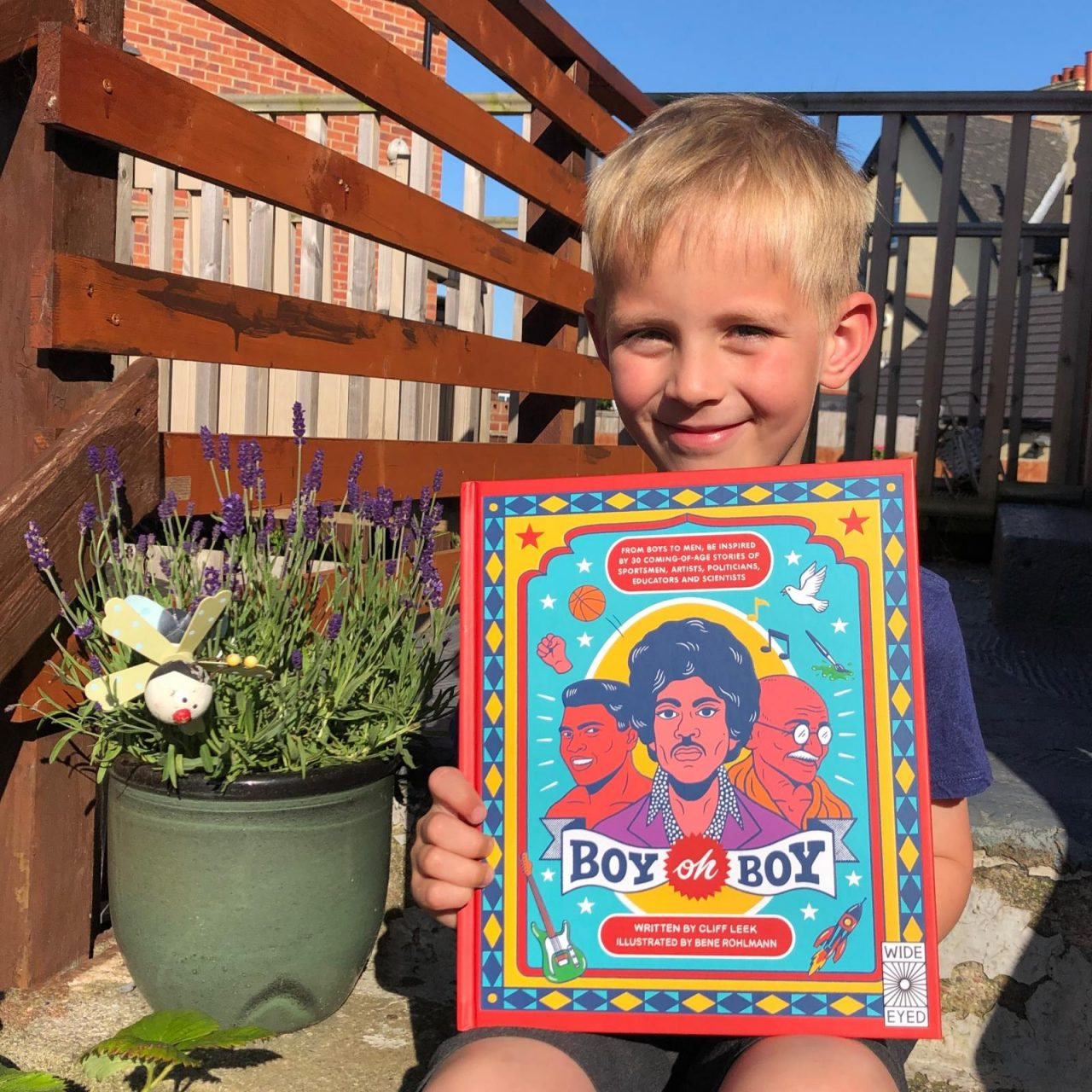 Boy oh Boy – an inspiring book – review and giveaway!