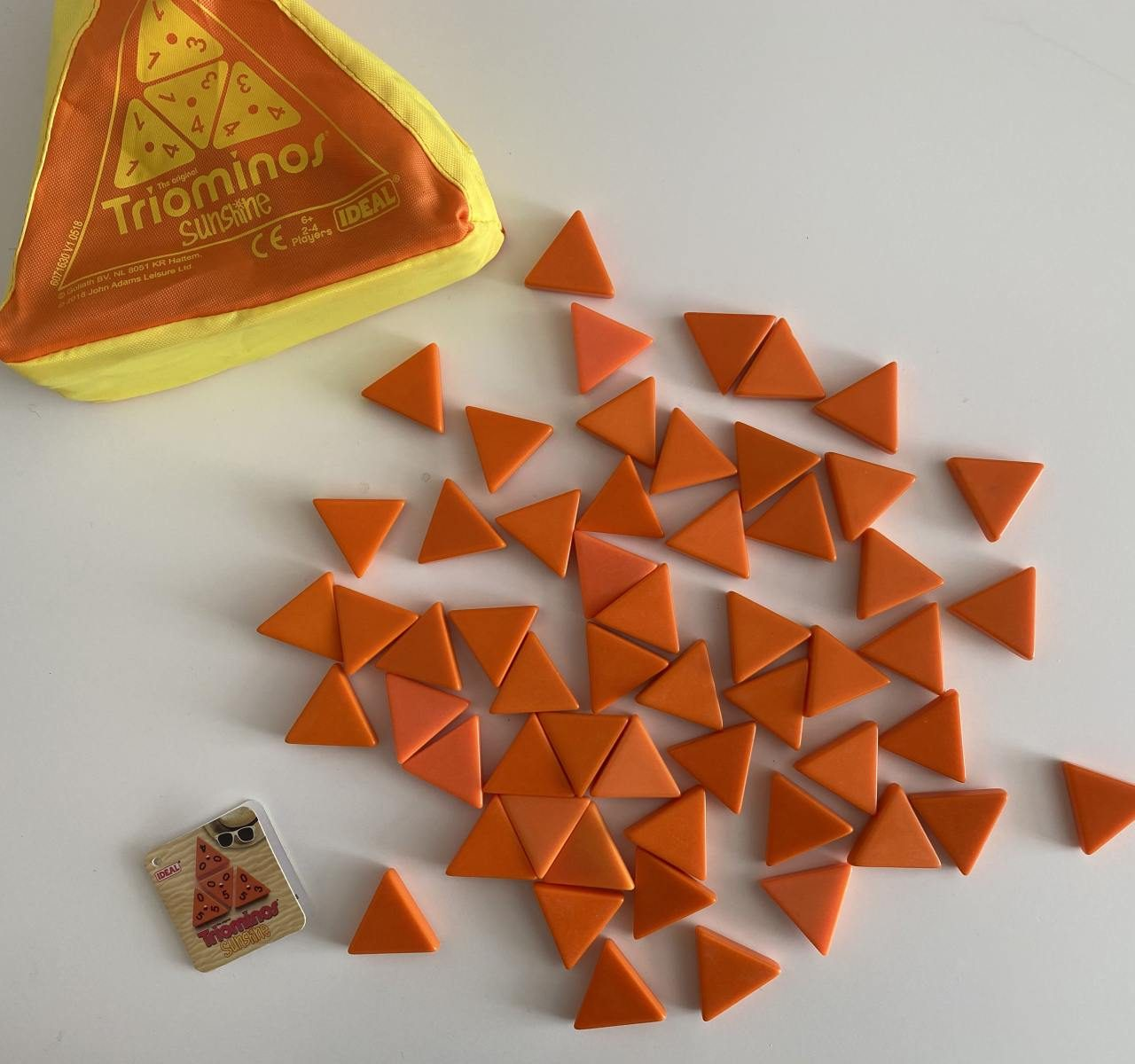 Family boredom busters with Ideal Games – Triominos